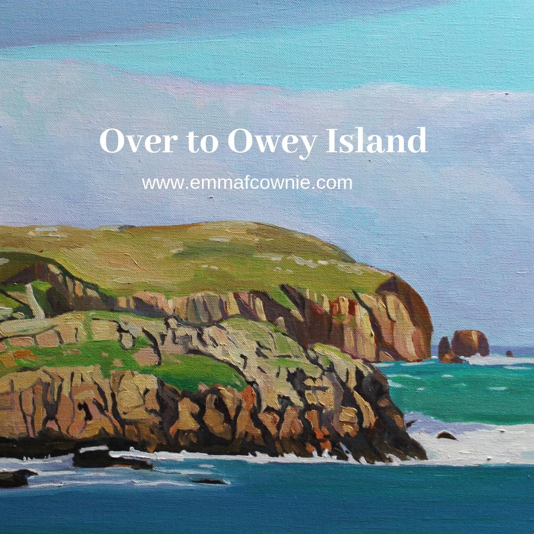 Blog about Owey Island Donegal, Ireland