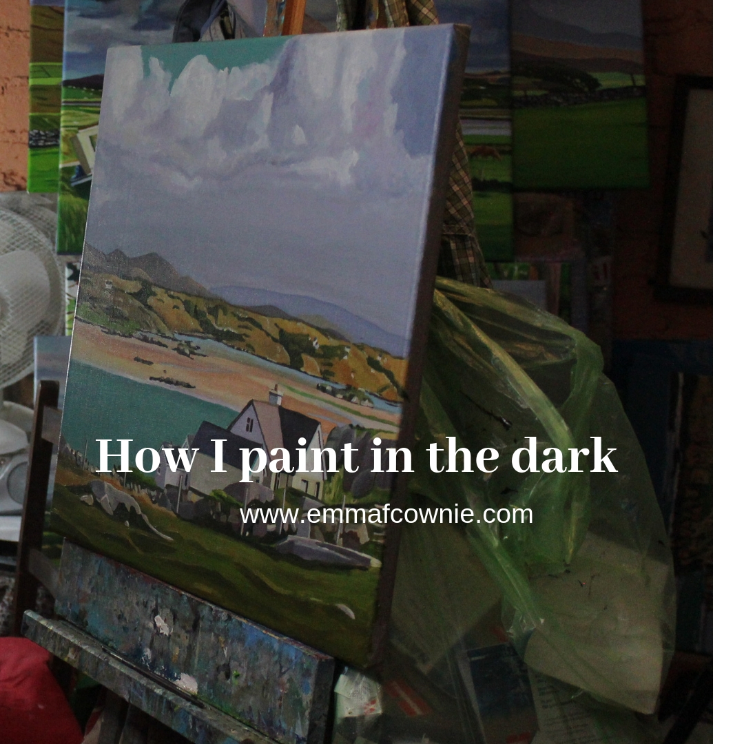 Blog about artificial lighting for artists