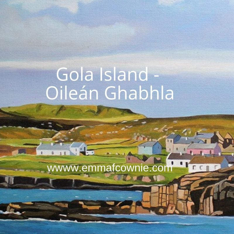 Donegal Painting of Gola
