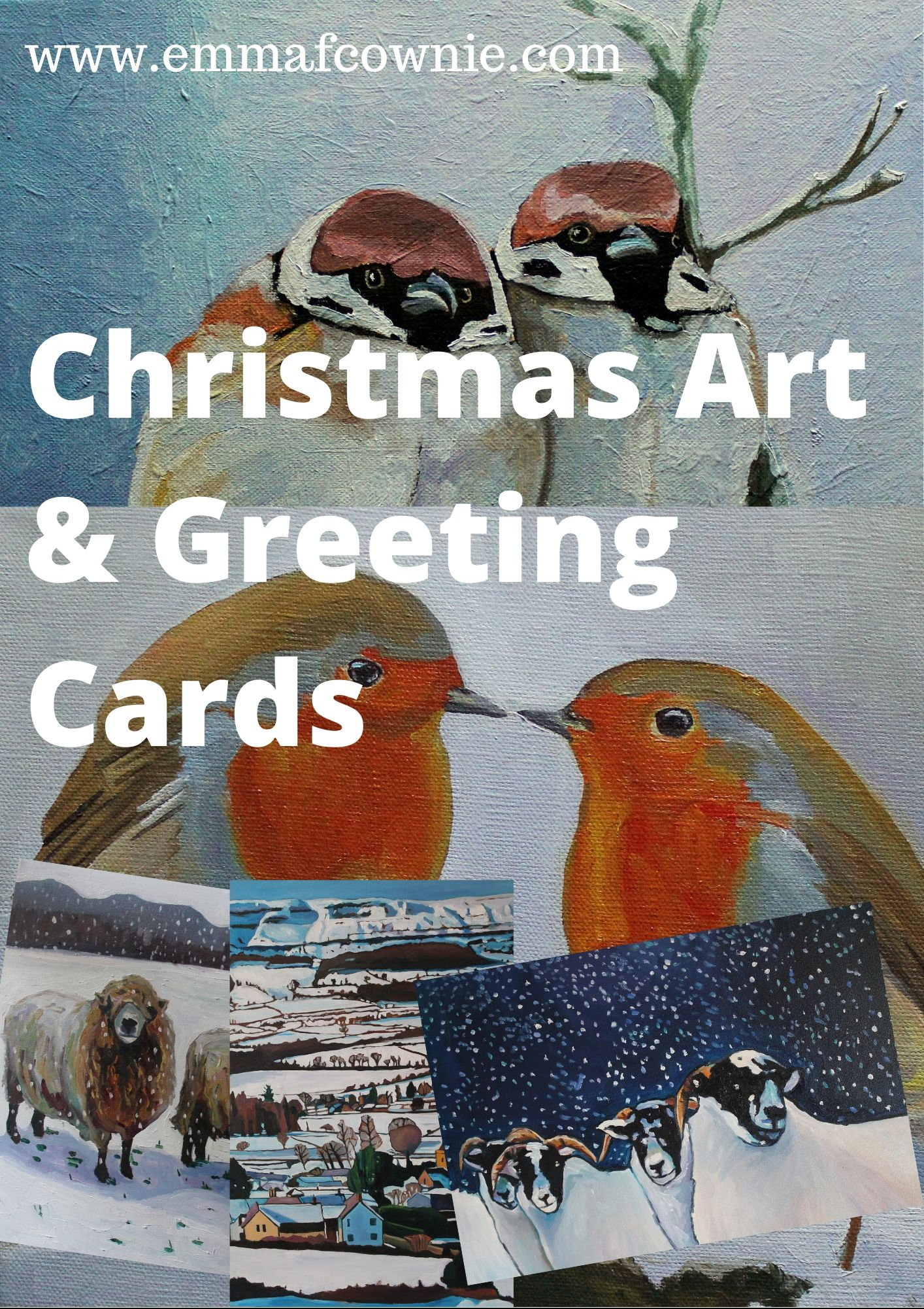 Christmas Art and Greeting cards