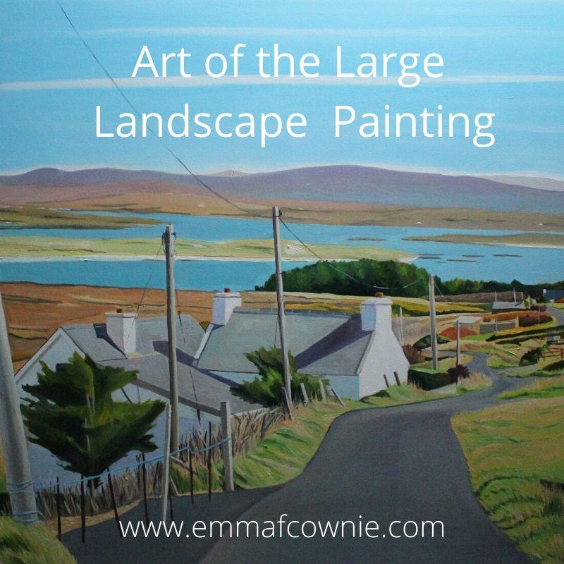 Landscape painting Ireland