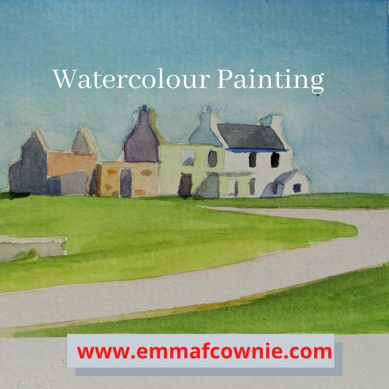 Watercolour painting by Emma Cownie