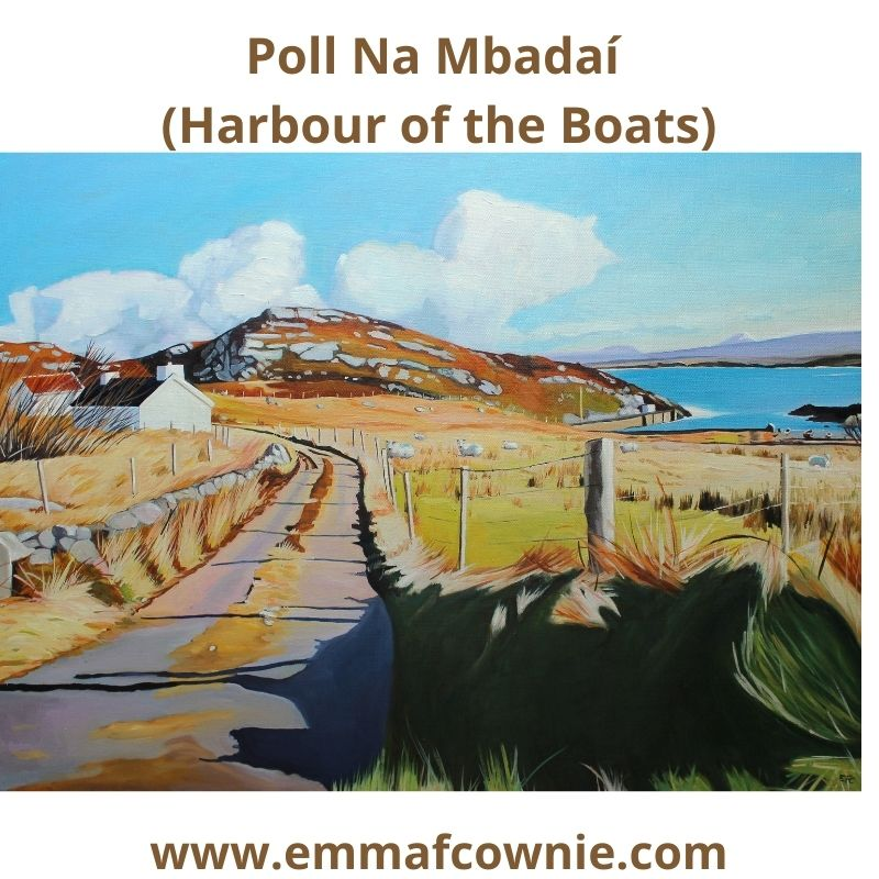 Poll Na Mbadaí (Harbour of the Boats), Arranmore Island