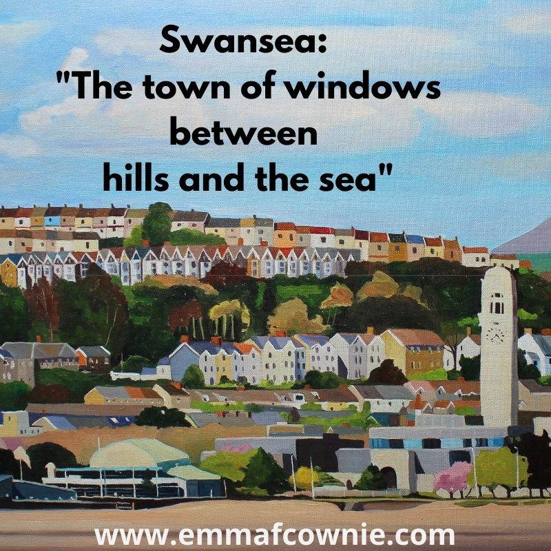 Swansea: The town of windows between hills and the sea