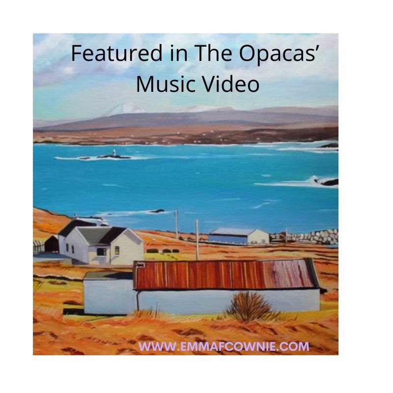 Featured in The Opacas' Music Video