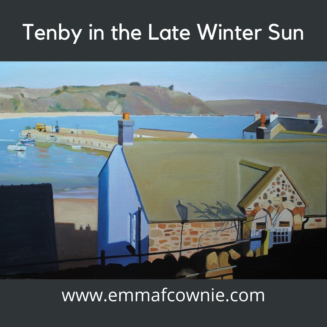 Paintings of Tenby for Sale