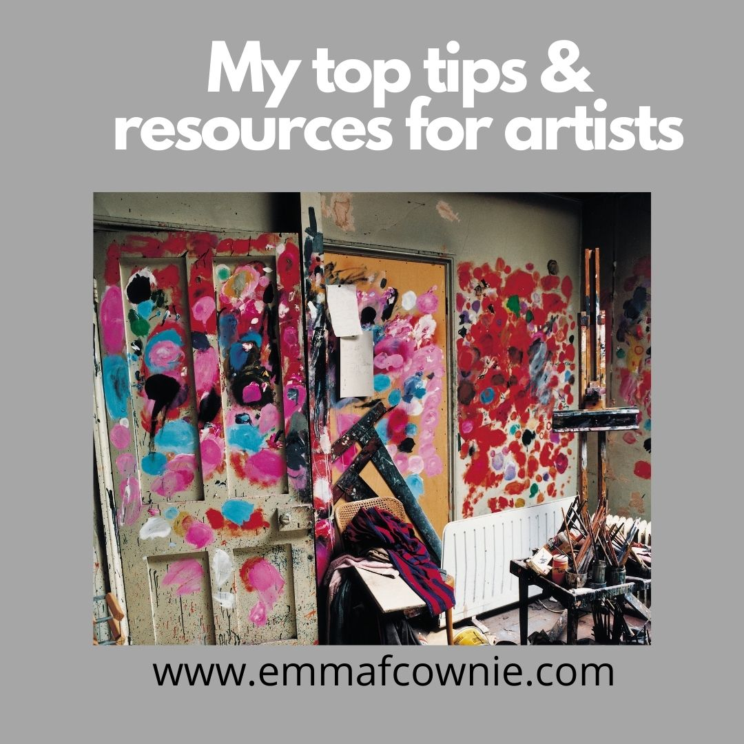 Top tips for Artists_Emma Cownie